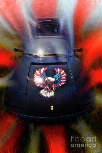 Photograph - Ferrari Eagle by Blake Richards