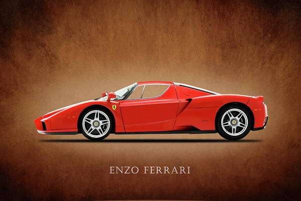 Super Photograph - Ferrari Enzo by Mark Rogan