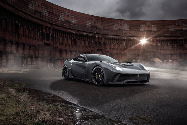 Sports Digital Art - Ferrari F12berlinetta by Super Lovely