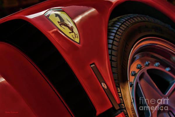 Photograph - Ferrari F40 Up Close by Blake Richards