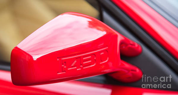 Photograph - Ferrari F430 Wing Mirror by Colin Rayner