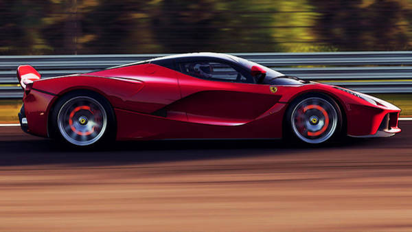 Photograph - Ferrari, Laferrari - 4 by Andrea Mazzocchetti