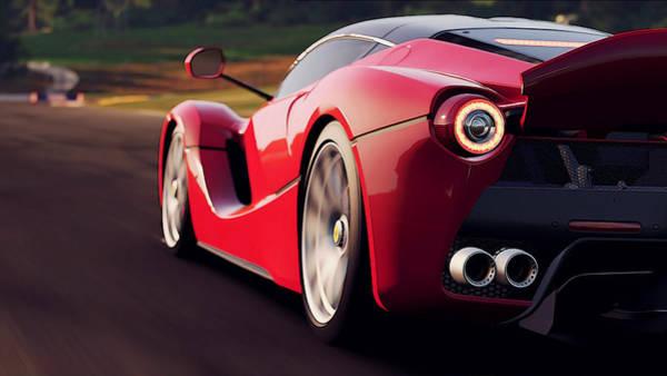 Photograph - Ferrari, Laferrari - 6 by Andrea Mazzocchetti