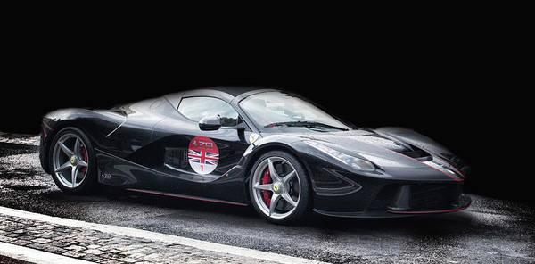 Auto Show Photograph - Ferrari by Martin Newman