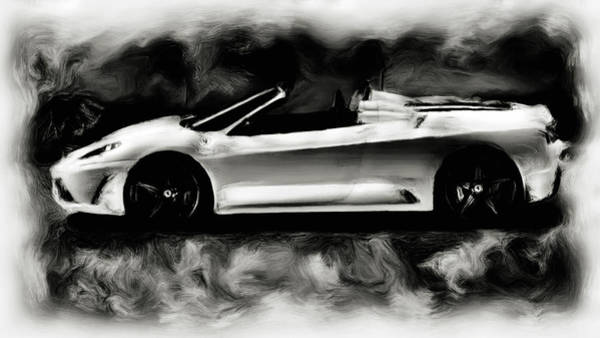 F430 Painting - Ferrari Scuderia Spider by Brian Reaves