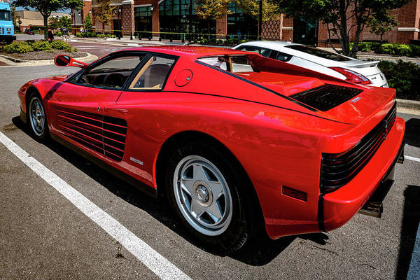 Photograph - Ferrari Testarossa by Randy Scherkenbach
