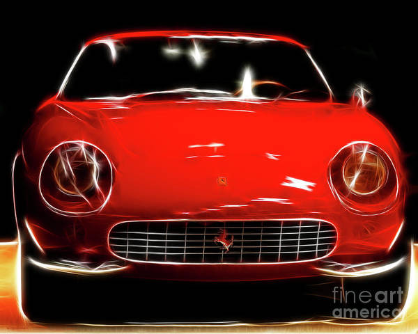 Photograph - Ferrari by Wingsdomain Art and Photography