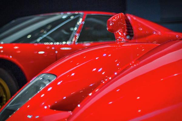 Photograph - Ferraris At The Auto Show by Stuart Litoff