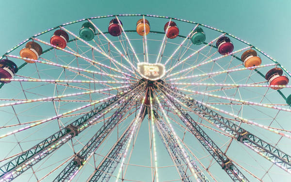 Photograph - Ferris Wheel 7 by Andrea Anderegg