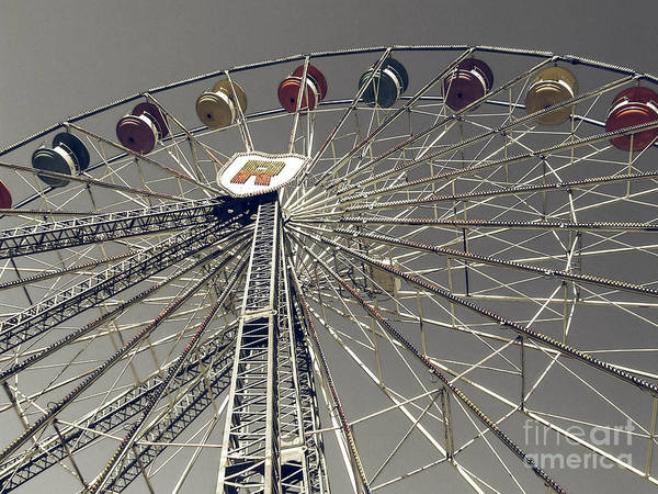 Photograph - Ferris Wheel 5 by Andrea Anderegg