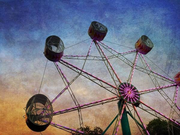 Photograph - Ferris Wheel by Chris Montcalmo