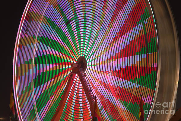 Photograph - Ferris Wheel IIi by Clarence Holmes