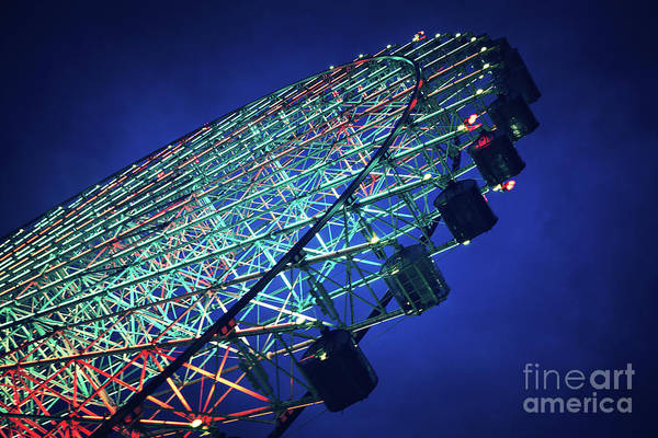Wall Art - Photograph - Ferris Wheel by Jane Rix