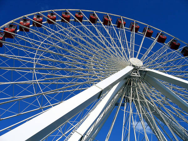 Photograph - Ferris Wheel by Laura Kinker