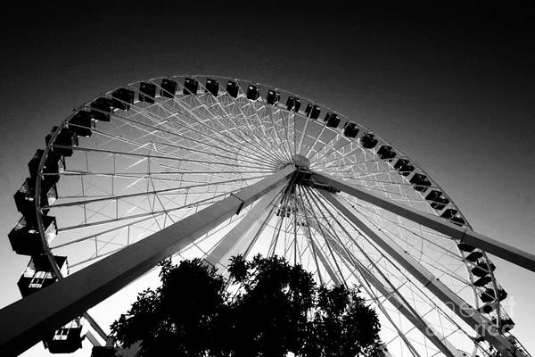 Photograph - Ferris Wheel by Leslie Leda