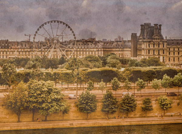 Photograph - Paris, France - Ferris Wheel by Mark Forte