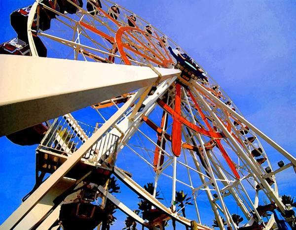 Painting - Ferris Wheel by Michael Thomas