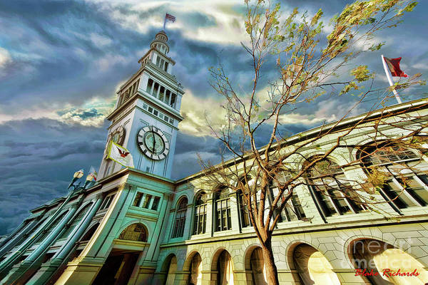 Photograph - Ferry Building by Blake Richards