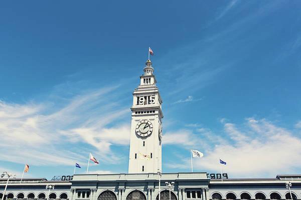 Wall Art - Photograph - Ferry Building San Francisco 1915 - California Photography by Melanie Alexandra Price