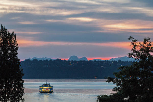 Photograph - Ferry Tillikum At Dawn by E Faithe Lester