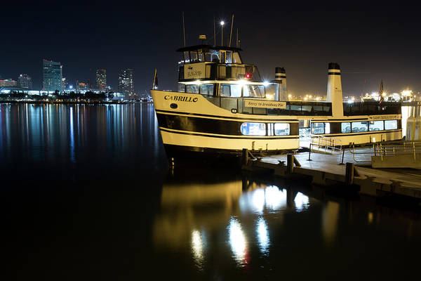 Photograph - Ferry To Broadway Pier by Nathan Rupert