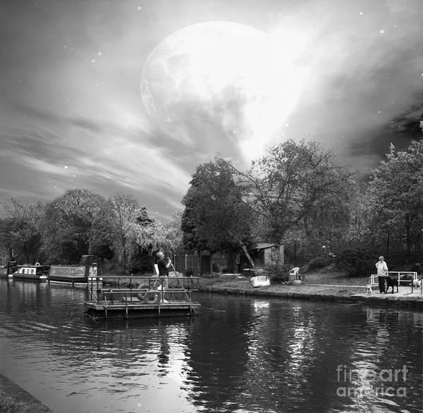 Digital Art - Ferryman by Abbie Shores