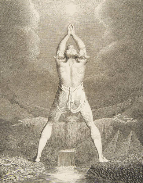 Relief - Fertilization Of Egypt by William Blake