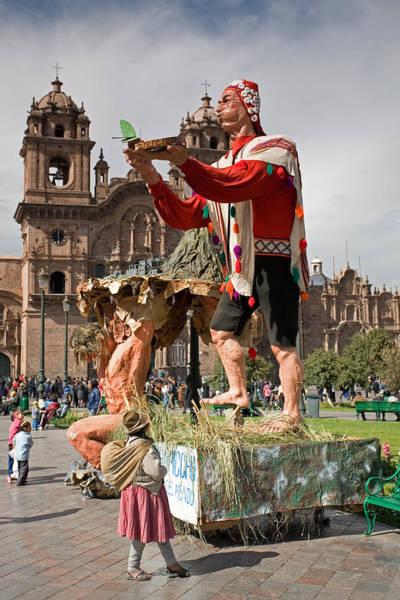 Photograph - Festival In Cusco by Aivar Mikko