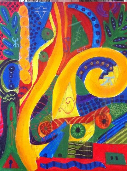 Painting - Festival On 6th St. by Cherylene Henderson