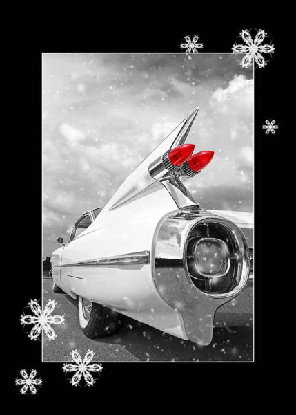 Photograph - Festive 59 Cadillac by Gill Billington