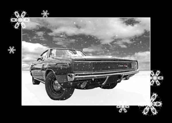 Photograph - Festive Dodge Charger by Gill Billington