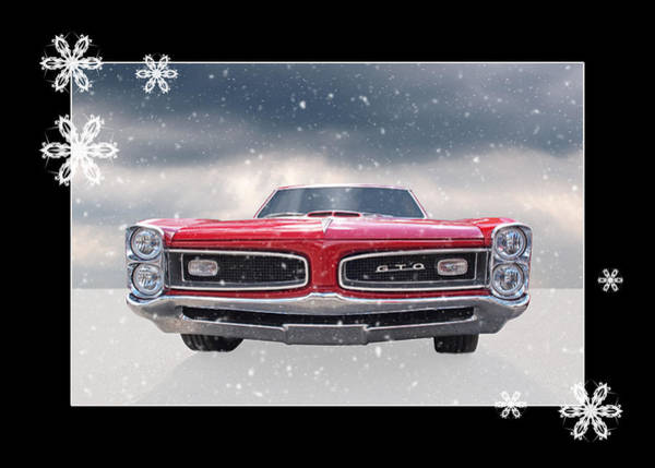 Wall Art - Photograph - Festive Pontiac Gto by Gill Billington