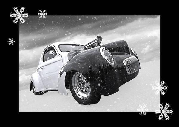 Photograph - Festive Willys by Gill Billington