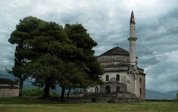Famous Wall Art - Photograph -  Fethiye Camii Mosque On A Cloudy Day by Jaroslaw Blaminsky