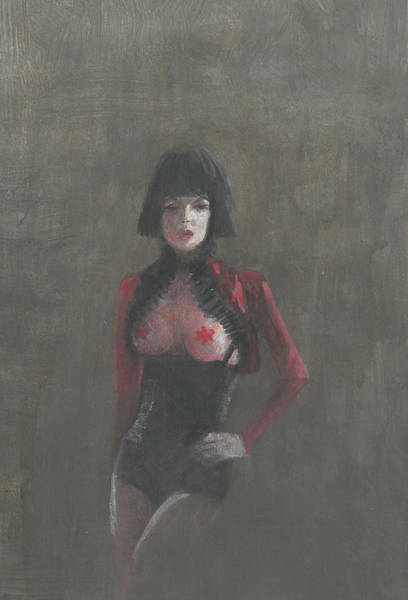 Seductive Painting - Fetish Artist by Lincoln Seligman