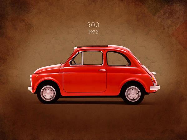 Fiat 500 R 1972 Art Print