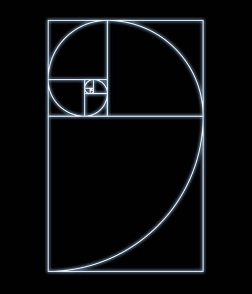 Phi Photograph - Fibonacci Spiral, Artwork by Seymour