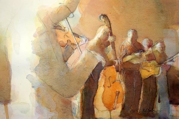 Fiddle Break Art Print