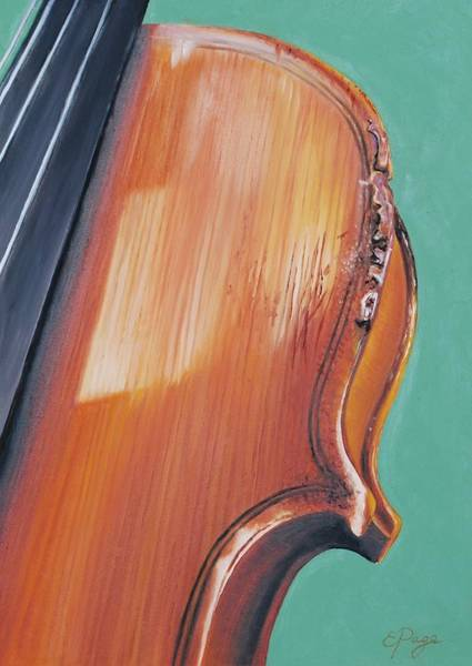 Painting - Fiddle II by Emily Page