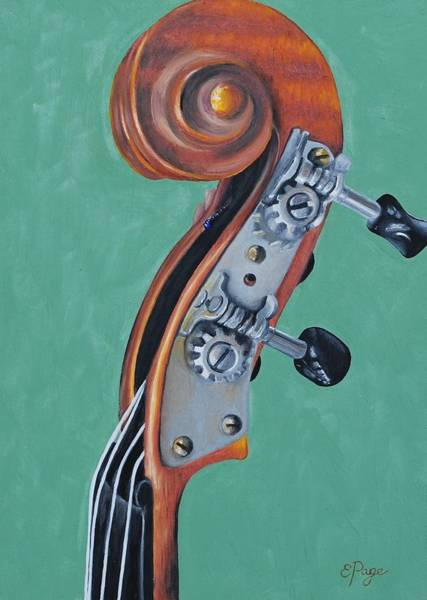 Painting - Fiddle Iv by Emily Page