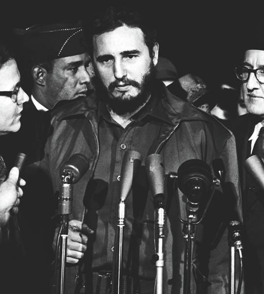 Wall Art - Photograph - Fidel Castro In Washington D.c. 1959 by Library Of Congress