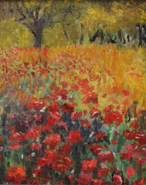 Painting - Field And Forest by Michael Helfen