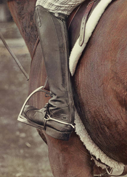Photograph - Field Boots by Dressage Design
