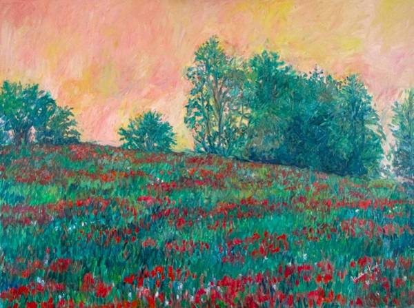 Painting - Field Of Beauty Stage Two by Kendall Kessler