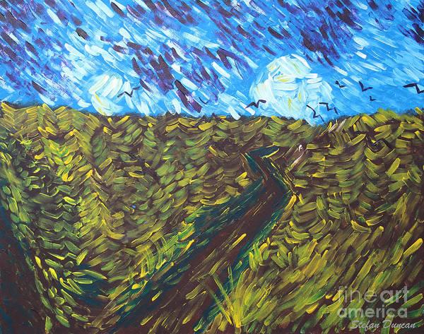Painting - Field Of Dreams by Stefan Duncan
