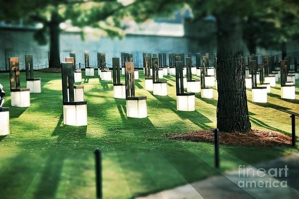 Photograph - Field Of Empty Chairs by Jenny Revitz Soper