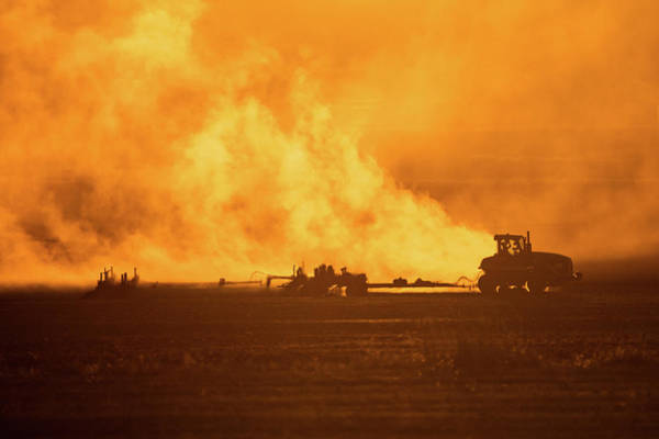 Photograph - Field Of Fire by Todd Klassy