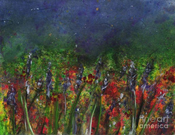 Painting - Field Of Flowers by Lynn Quinn