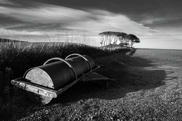 Wall Art - Photograph - Field Roller by Dave Bowman