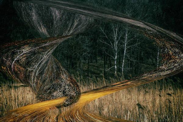Photograph - Field Warping by Paul Vitko